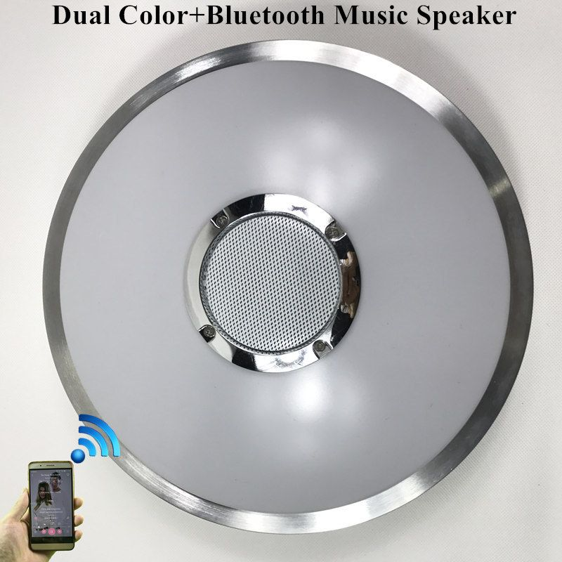 Kinlams Led Ceiling Light With Bluetooth Speaker 12w 18w Music Playing Lamp Party Lamp Deco Be Led Ceiling Lights Light Fixtures Bedroom Ceiling Ceiling Lights