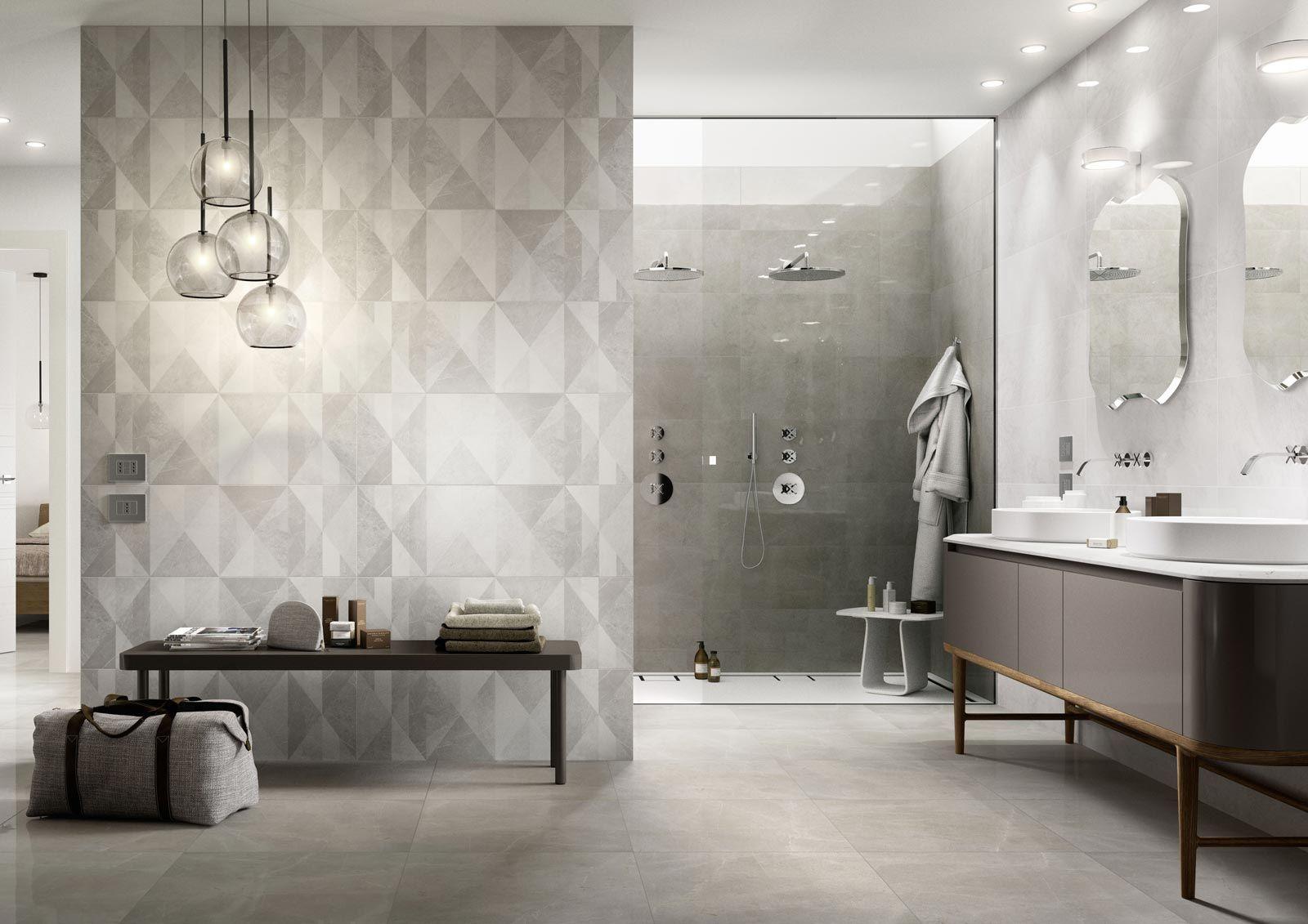 Sito perfetto per piastrelle Mattonelle per il Bagno: idee e soluzioni in ceramica e gres  - Marazzi 6357