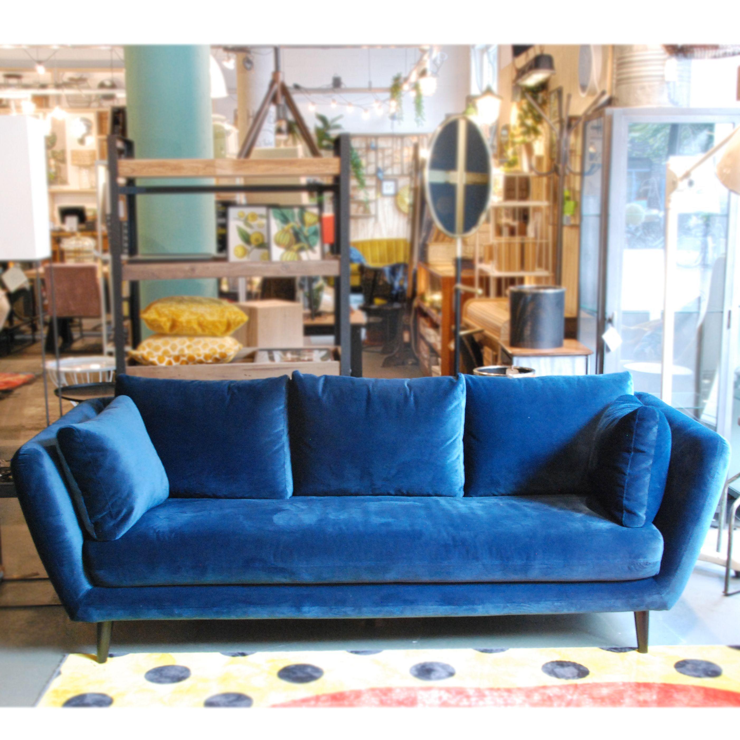 Blauwe Design Bank.Image Result For Lola 3 Zits Homestock Blauwe Bank Woonkamer