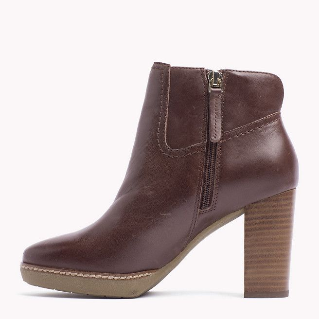promo code a9f25 8d534 Tommy Hilfiger Jenina Ankle Boots - bitter chocolate (Braun ...