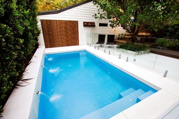Small Pool Ideas For Small Yard Backyard Pool Cost Small Pools Pool Steps