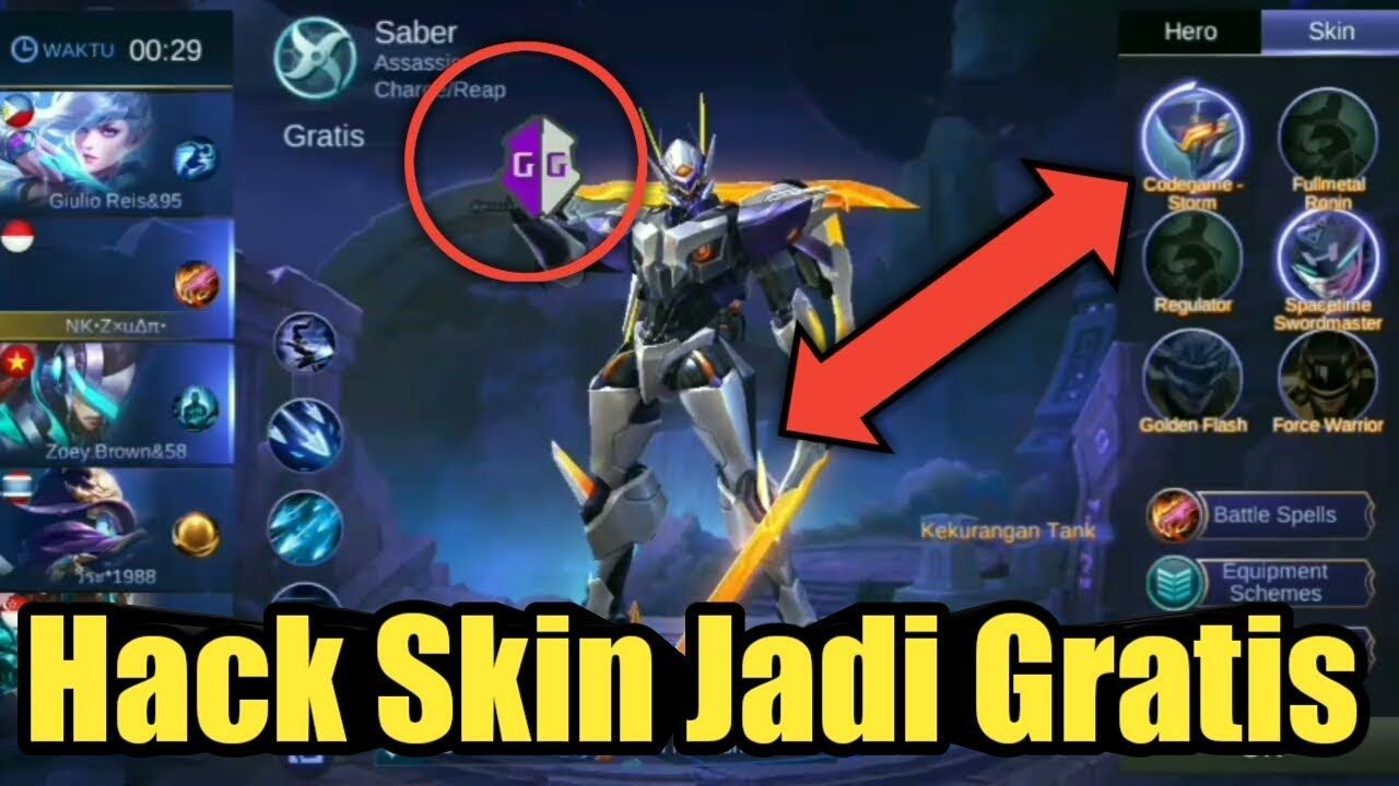 Cheat Hack Skin Legend Jadi Gratis Pake Game Guardian Tanpa Root Mobile Legends Sultanmahbebas V Mobile Legends Mobile Legend Wallpaper Miya Mobile Legends