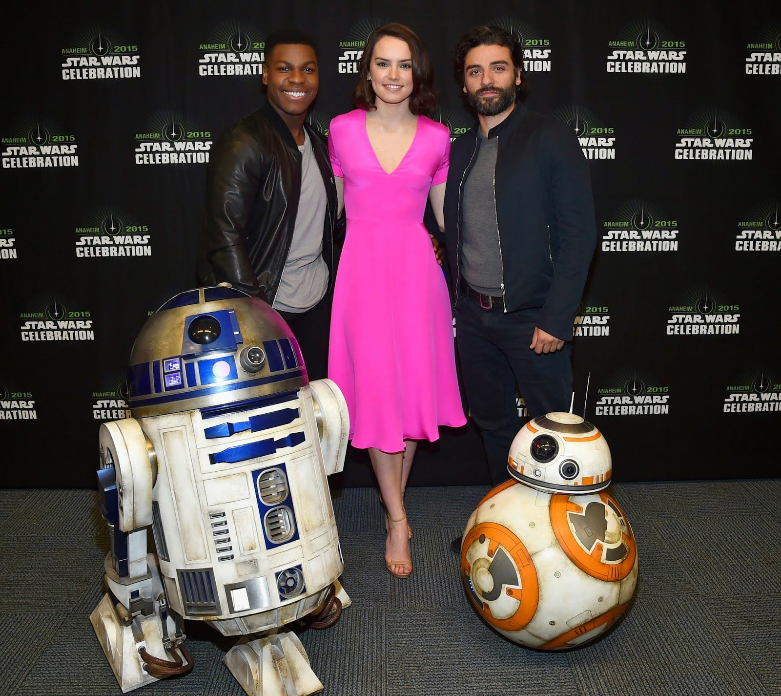 Star Wars Celebration Backstage Photos from Star Wars: The Force Awakens Panel