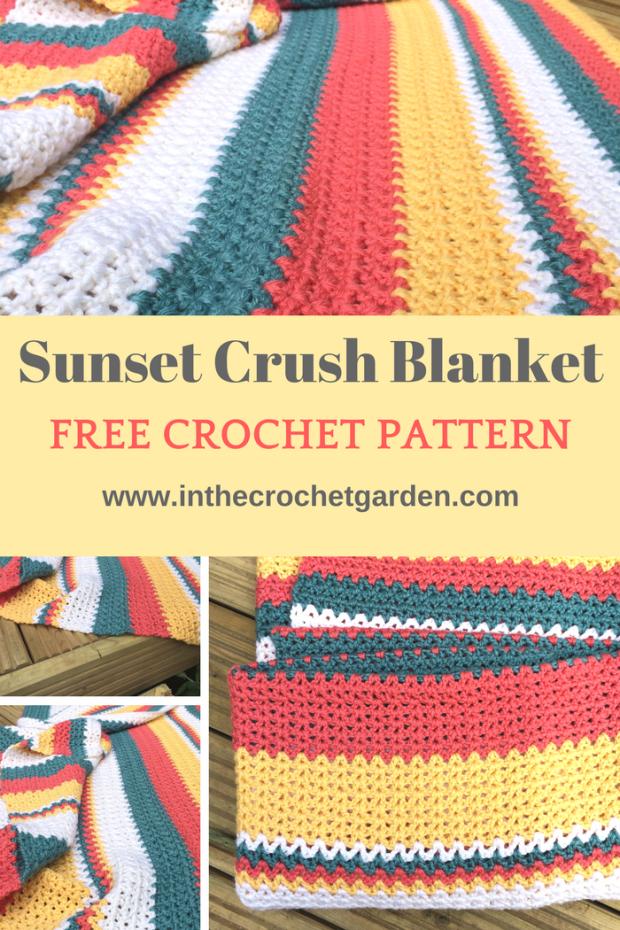 sunset-crush-blanket-1 | Crochet | Pinterest | Häkeln und Stricken