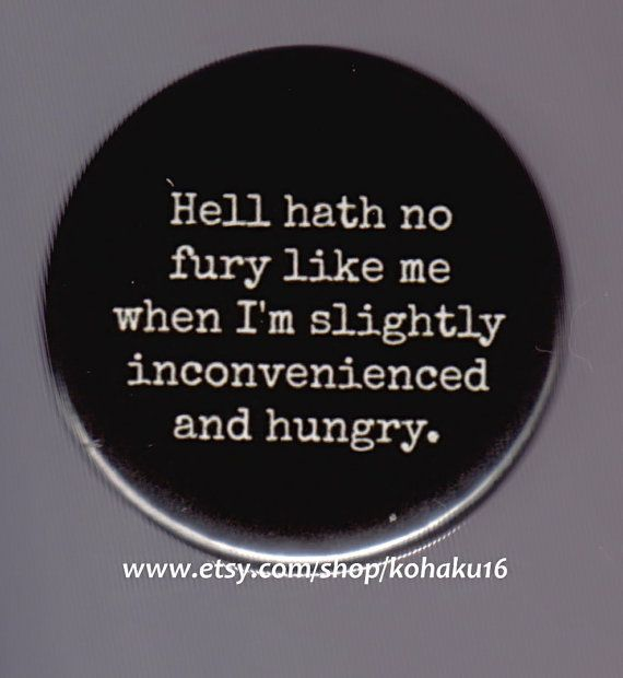 Hungry and Furious Button