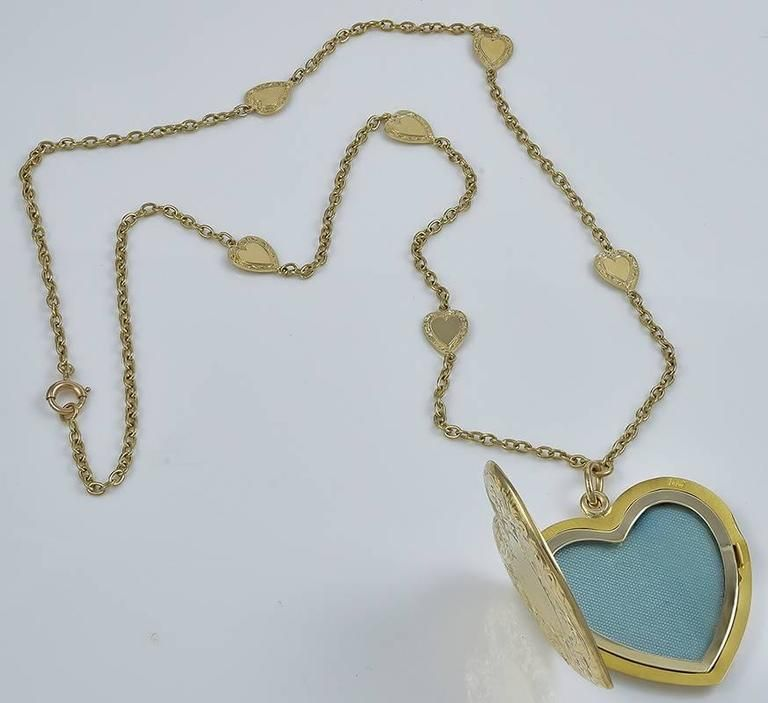 chain set dcn heart necklace silver sterling gold cubic with zirconia chains