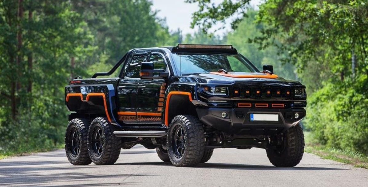 This Tricked Out Chevy Silverado 6x6 Is An Absolute Beast 6x6