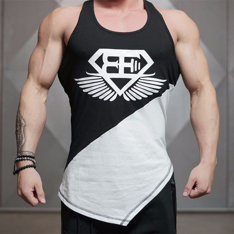 4b40cb50c7f9ce 2016 Superman Singlets Mens Tank Tops Shirt