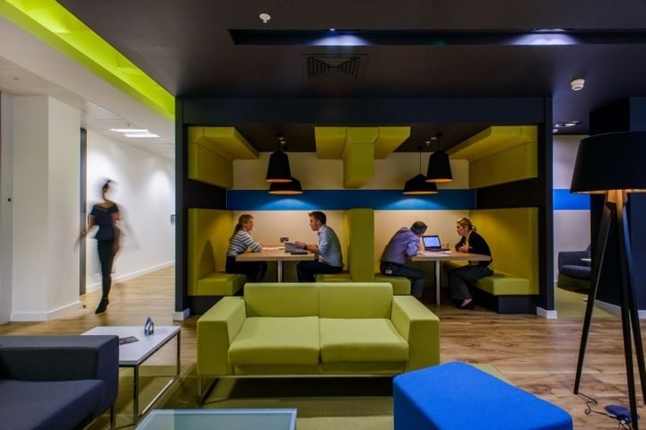 arup offices by tsk group manchester uk retail design blog
