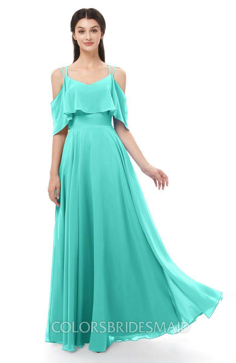 a457949ee274 ColsBM Jamie Bridesmaid Dresses Floor Length Pleated V-neck Half Backless A-line  Modern #colsbm #bridesmaids #bridesmaiddress #weddings .