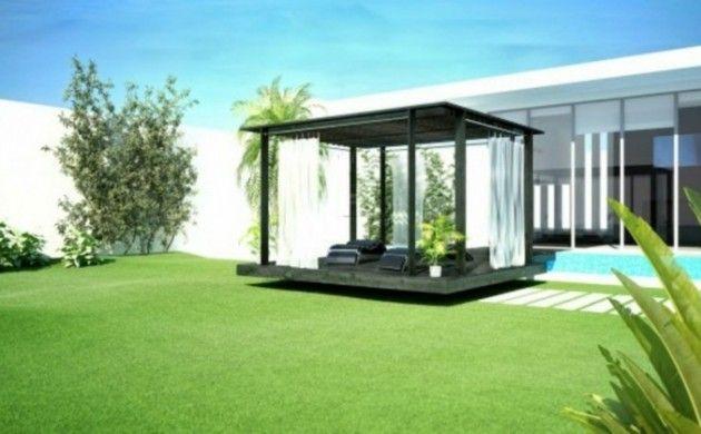 Garten Lounge Möbel Veranda Einrichtungsideen Gartenmöbel Set