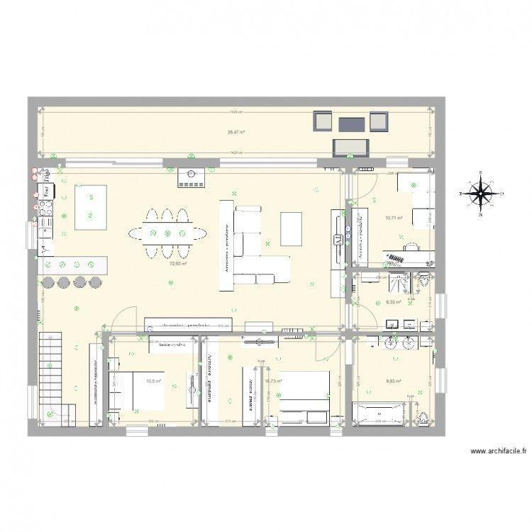 Plan Maison 300m2 Plansdemaisonenbois Plansdemaisoncontemporaine House Plans Architect Design House Design House plan vs floor plan
