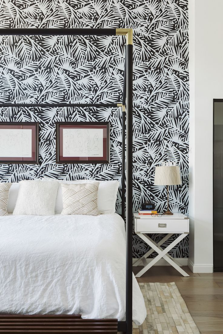 Small Bedroom Wallpaper Black And White - home decor photos gallery