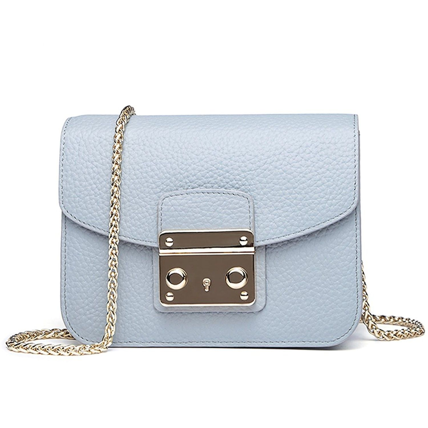 b836dedeb921 Classic Rfid Small Crossbody Bag for Women Leather Messenger Cell ...