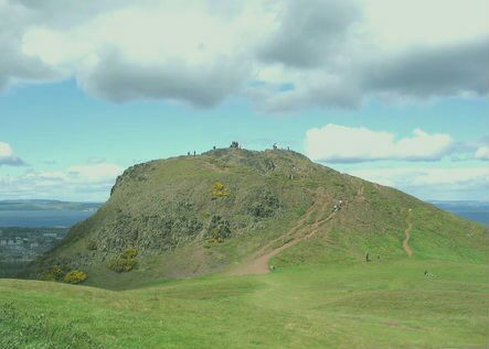 Arthur's Seat in Edinburgh, Edinburgh - accomplished 12/2014