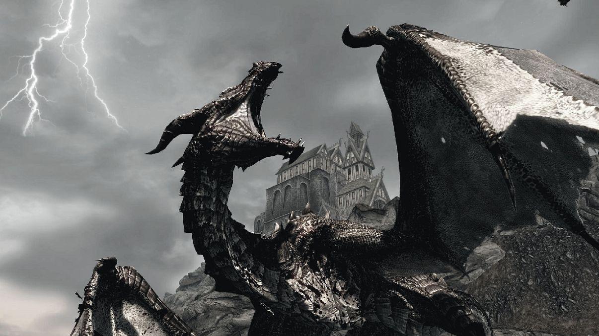 Skyrim Vampire Lord Wallpaper Google Search Fantasy Pinterest