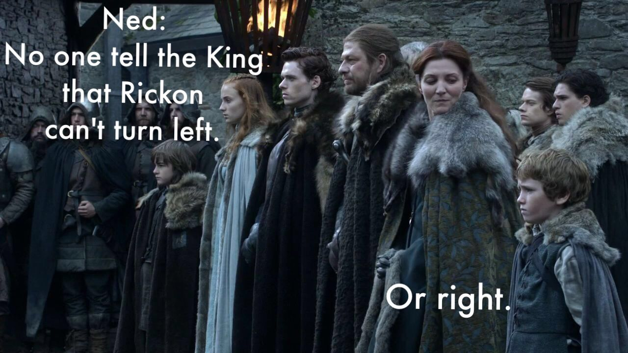 The secret shame of house Stark. How hard is it to zigzag