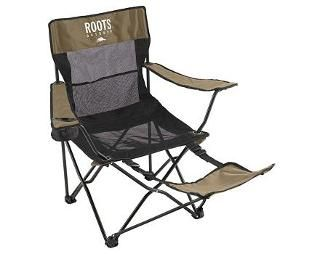 Pleasing Roots Armchair With Footrest Canadian Tire 45 Camping Cjindustries Chair Design For Home Cjindustriesco