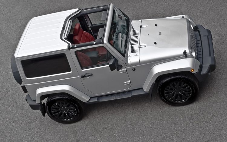The Chelsea Truck Project Kahn Unveils Jeep Wrangler With 20 Inch