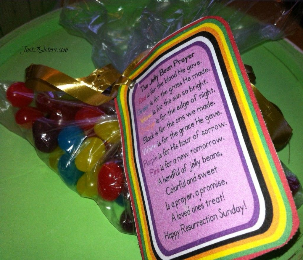 Jelly Bean Prayer Easter Traditions