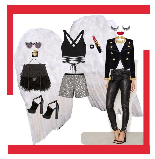 """Fashion Angel"" by janetvera on Polyvore featuring NLY Trend, Puma, Aquazzura, Karl Lagerfeld, Chanel, STELLA McCARTNEY, Yves Saint Laurent and Bobbi Brown Cosmetics"