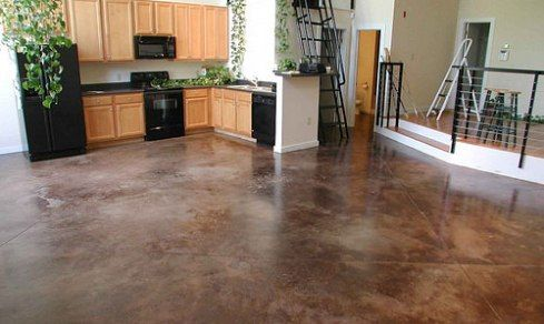 C mo pintar pisos de cemento piso de microcemento - Como aplicar el microcemento ...