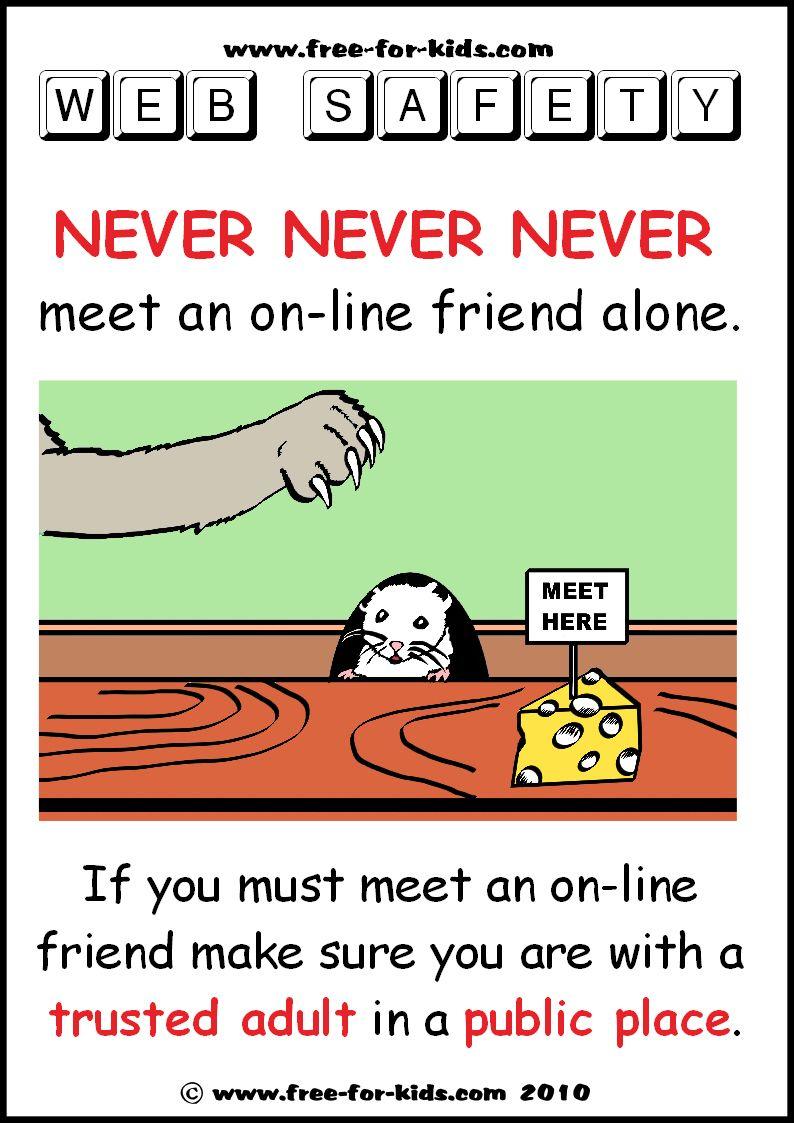 Nettiturvallisuus Safety posters, safety for
