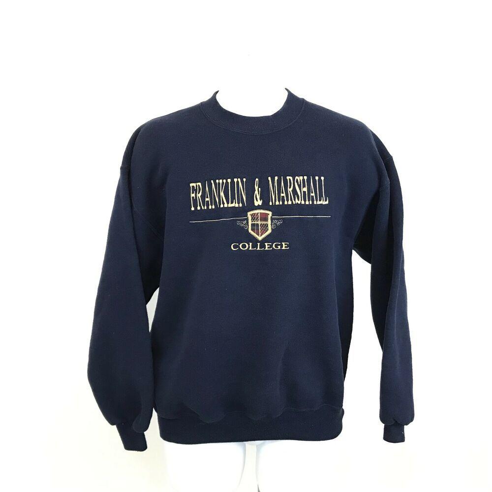 Vintage Franklin And Marshall College Sweatshirt Size L Blue Crewneck Made Usa Genus Sweatshirt Sweatshirts Vintage Nike Crewneck Nike Crewneck Sweatshirt [ 1000 x 1000 Pixel ]