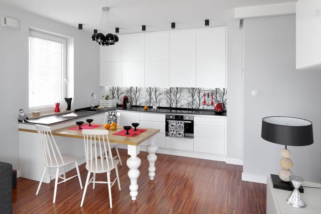 Galeria Zdjec Drewniany Stol W Kuchni Najciekawsze Aranzacje Zdjecie Nr 5 Urzadzamy Pl Kitchen Room Design Interior Home
