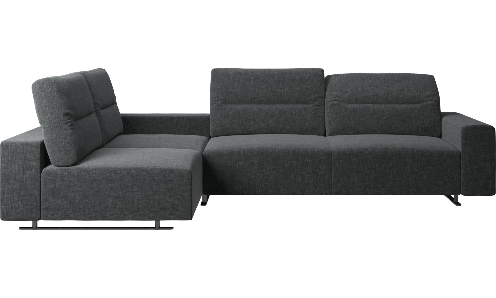 Hampton Corner Sofa With Adjustable Back And Storage On Right Side Corner Sofa Design Corner Sofa Leather Corner Sofa