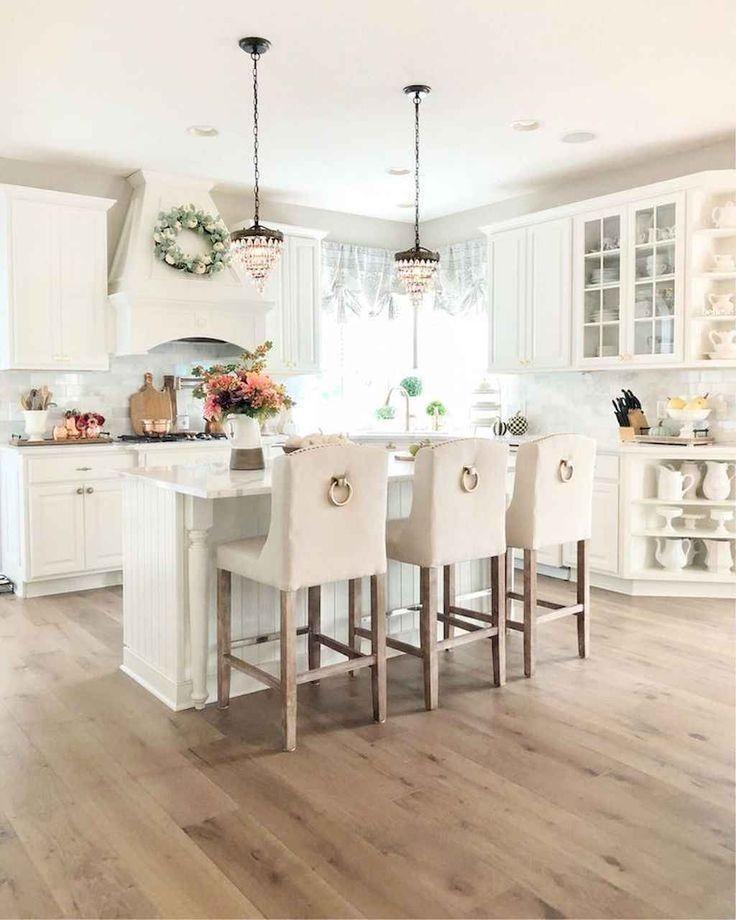 55 Gorgeous French Country Style Kitchen Decor Ideas