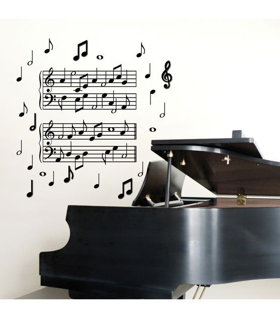 DCWV Peel And 3D Music Notes