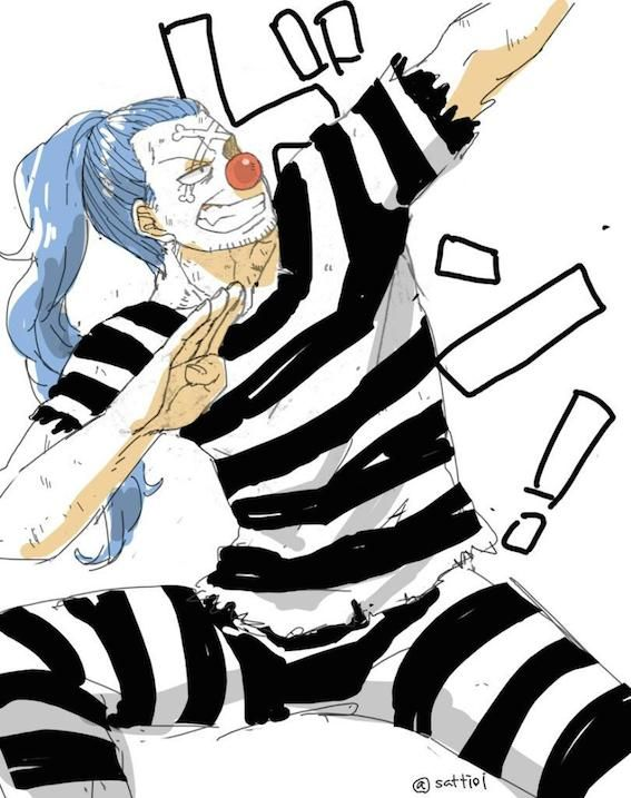 one piece buggy the clown buggy shanks pinterest gostar e