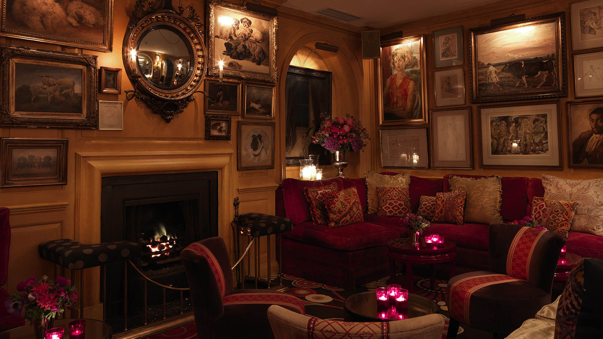 Living Room Bar London Annabels Private Club London Interior Design Clubs