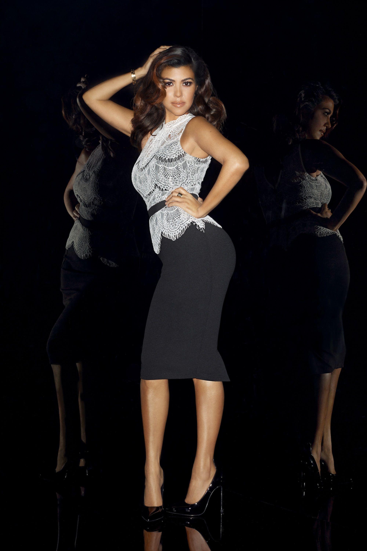 Terry Richardson photo of Kim Kardashian   Cocktail dress