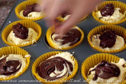 Nutella cupcakes. OMG