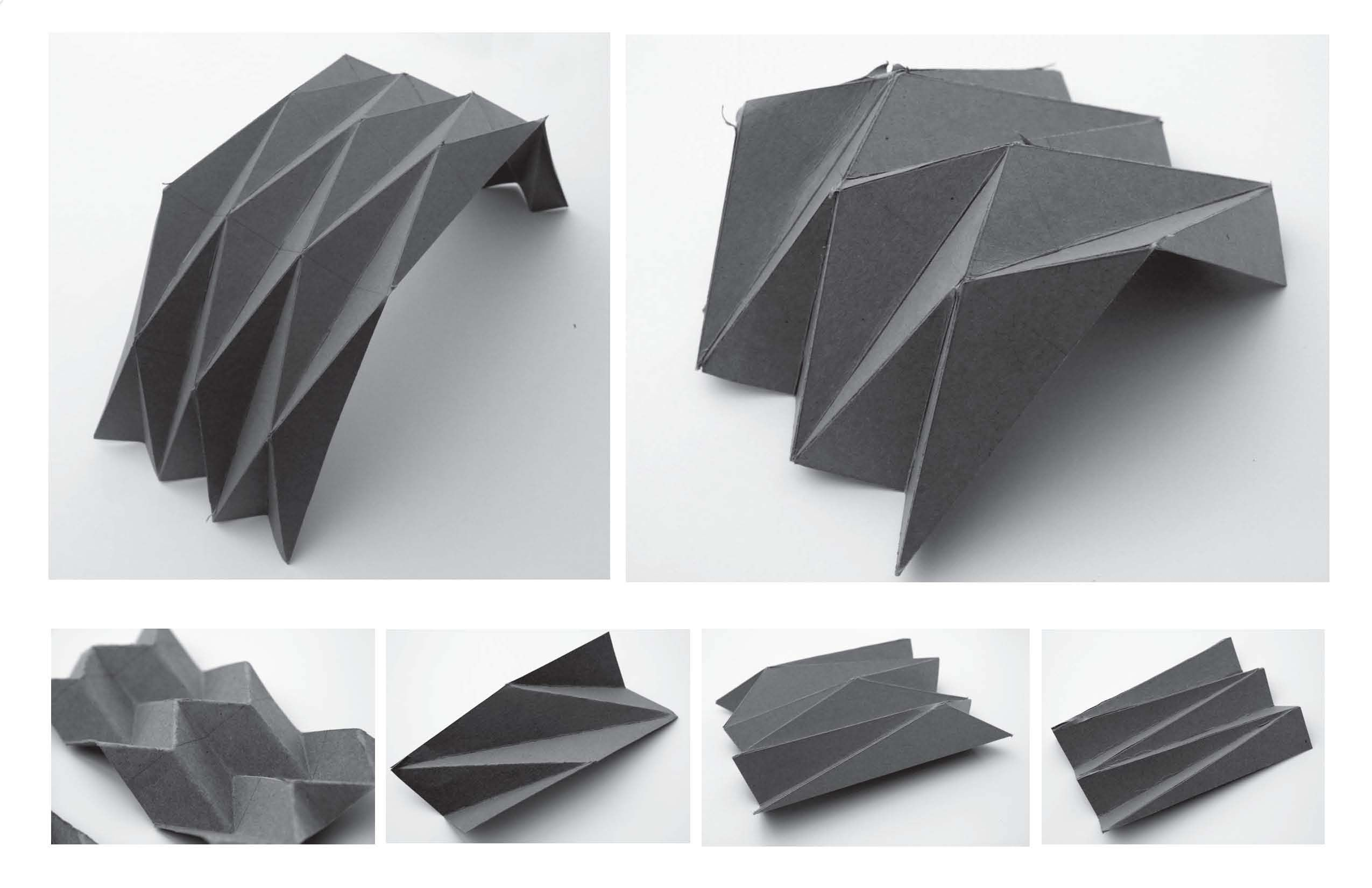 Fold Plate Design Origami Architecture Folding