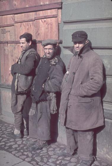 Warsaw, German-occupied Poland, 1940.