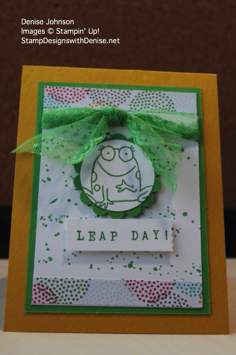 Everyone thinks the next big holiday on the calendar is St. Patrick's Day, but I know it is Leap Day – Feb. 29th – the Bonus Day February gets every 4 years. Yay! Many of you won't celebrate this d…