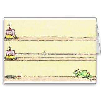 Chameleon Happy Birthday Greeting Cards #birthday #greetingcard #funny #geburtstag #anniversaire