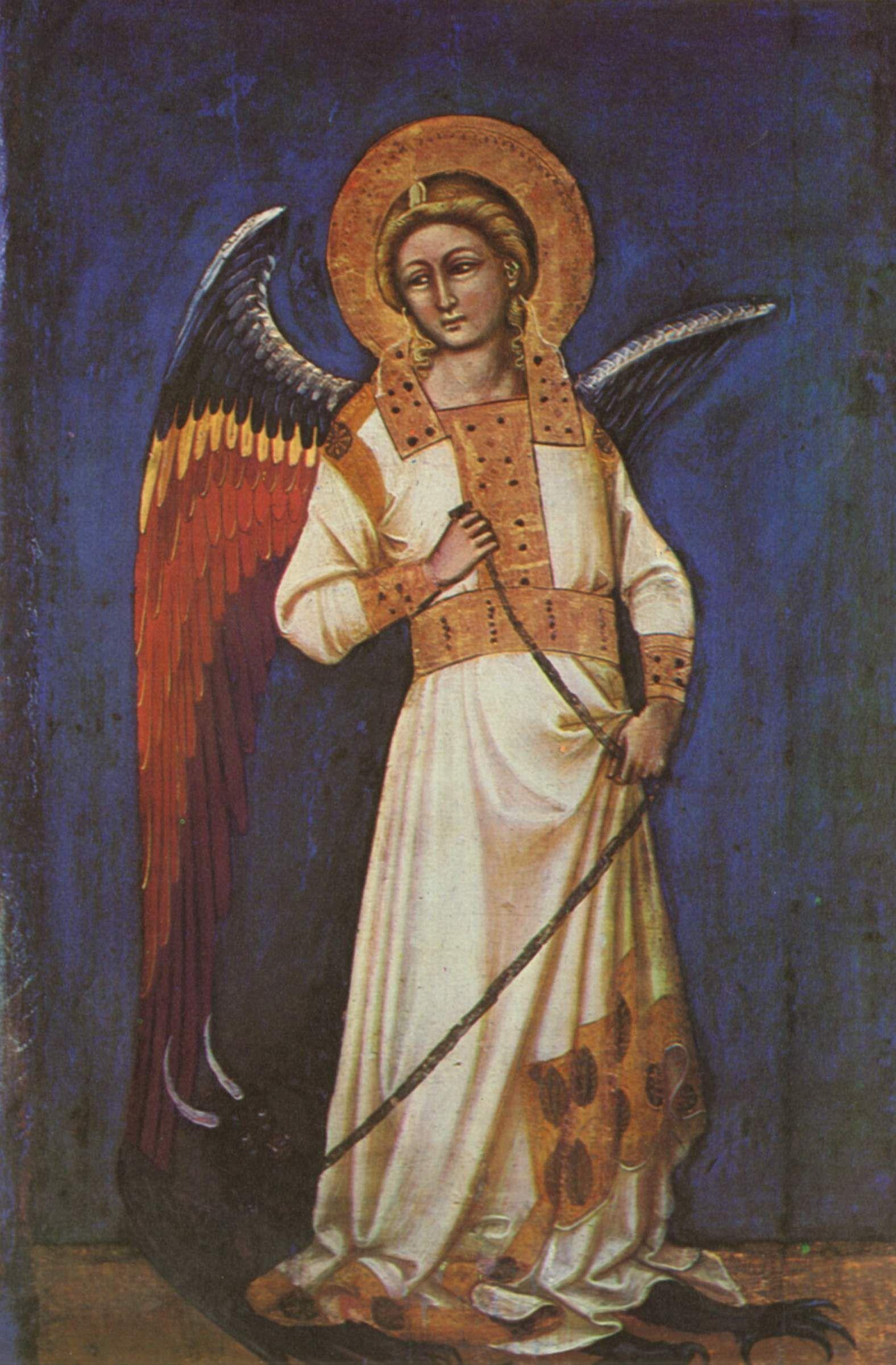 Guariento Di Arpo Master Of Angels Black Angel