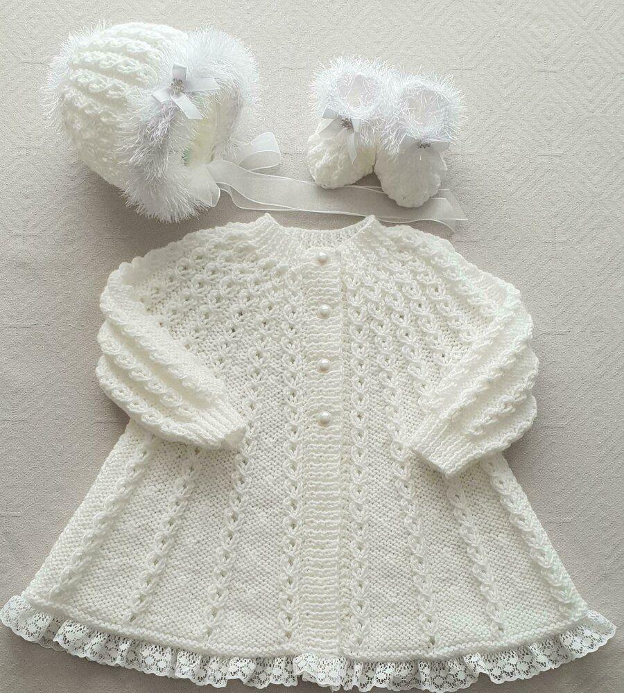Aurora swing coat baby knitting pattern Knitting pattern ...