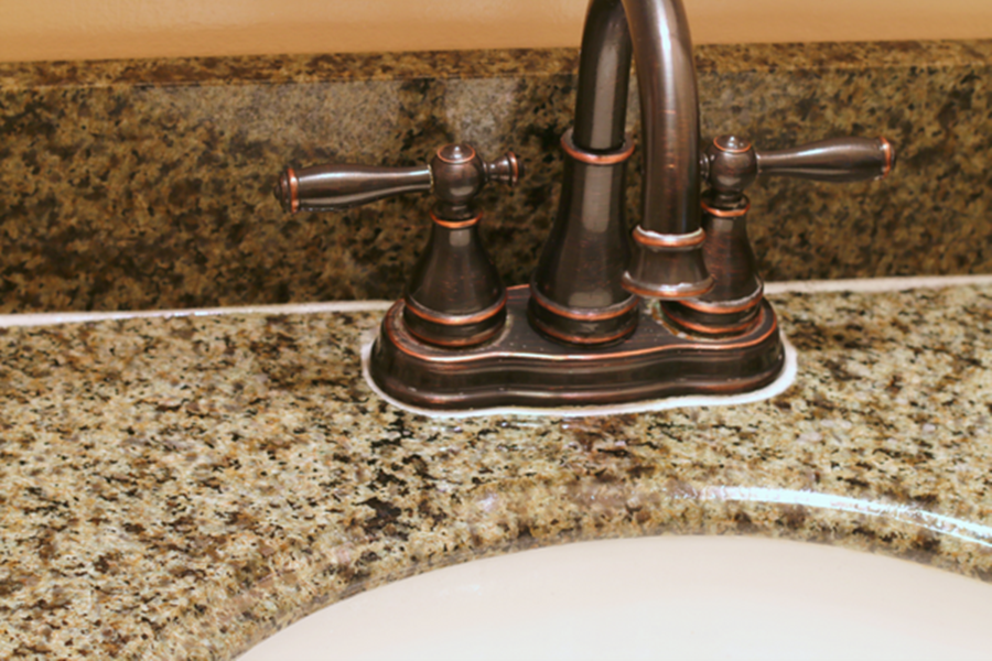 Water Stains From Granite Countertops