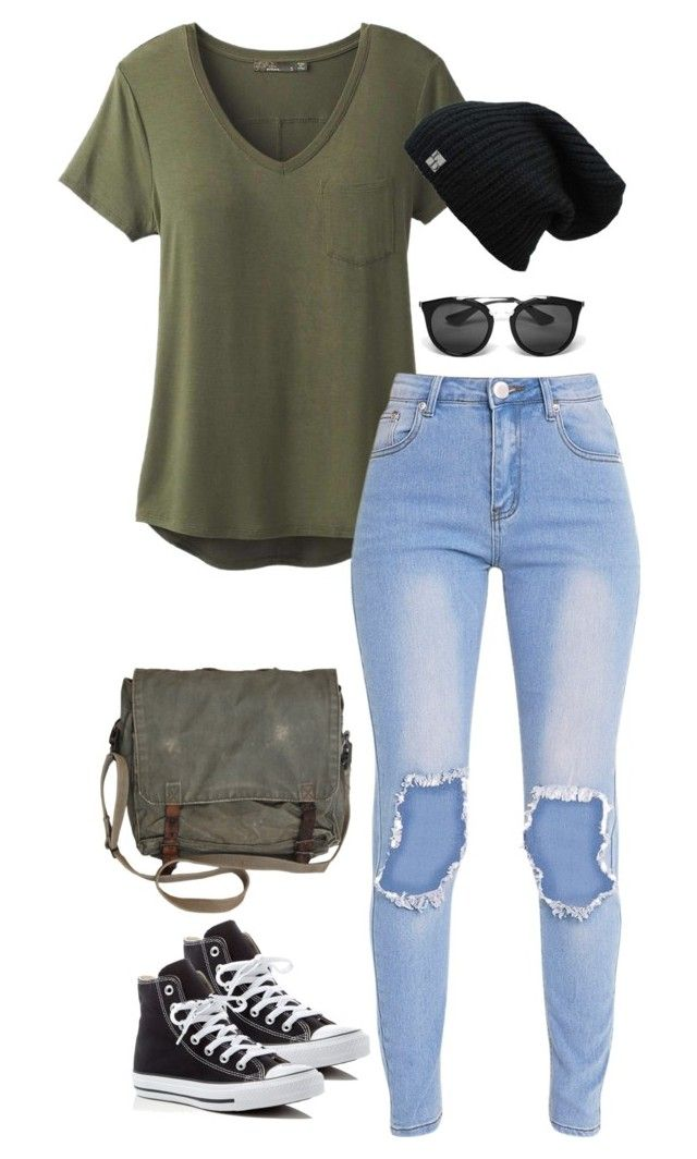 """Untitled #3466"" by meandelstyle ❤ liked on Polyvore featuring prAna, Converse and Prada"