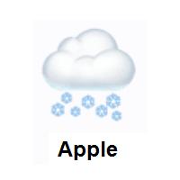 Cloud With Snow Emoji Clouds Emoji Emoji Art
