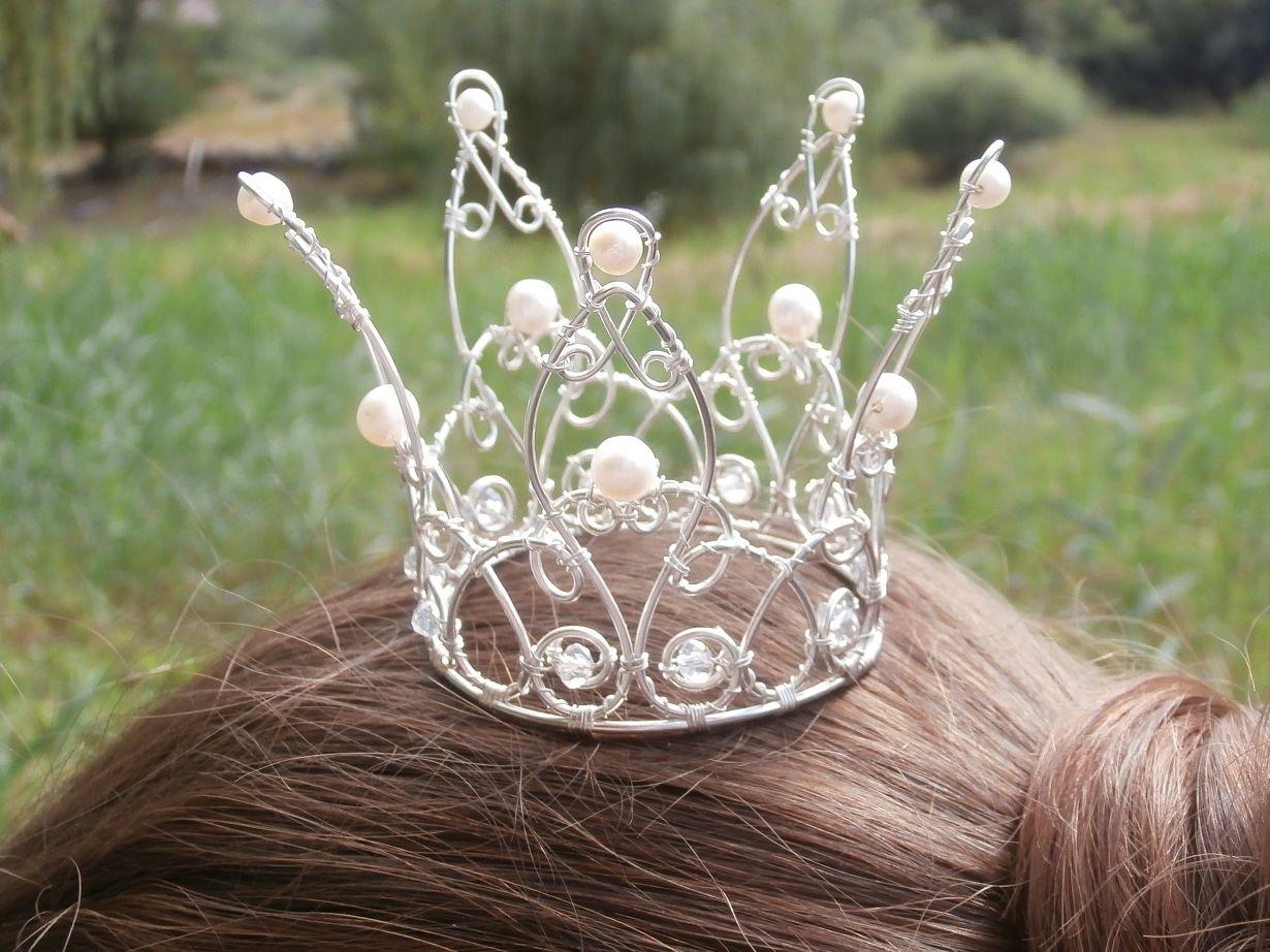 Как сделать корону из проволоки фото 36