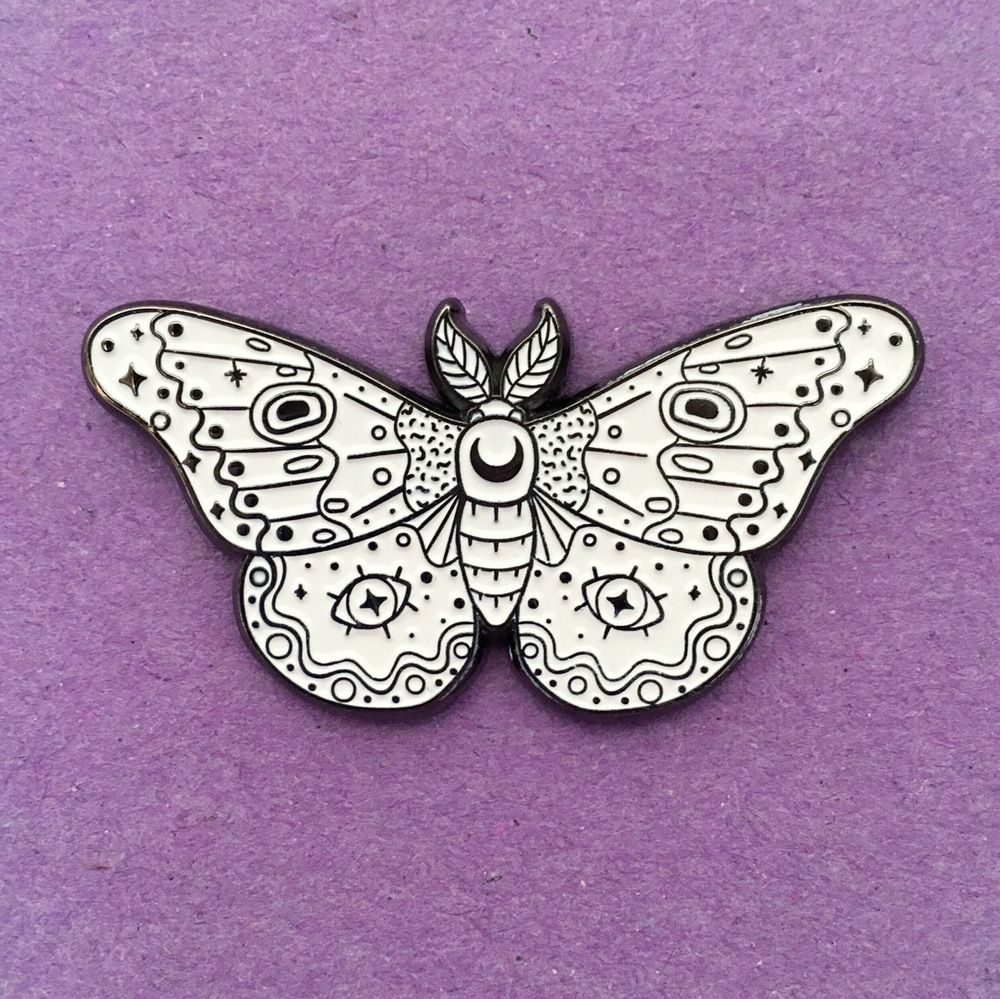 Image Of Moth White Glow Pins Patches Pinterest Moth
