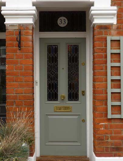 London Doors Front Door Victorian Edwardian Door Small Spaces