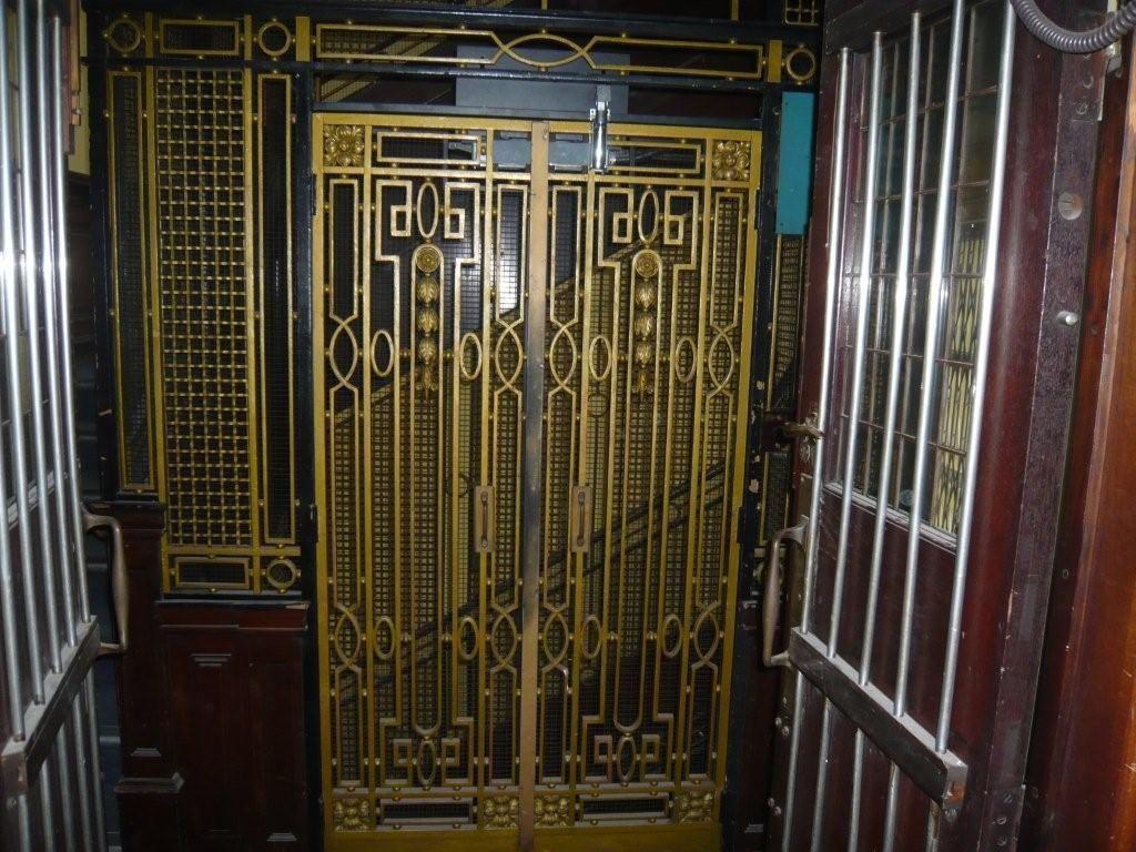 ELEVATOR Vintage Style Metal Art Deco Sign 4 Retro Apartment Office Building