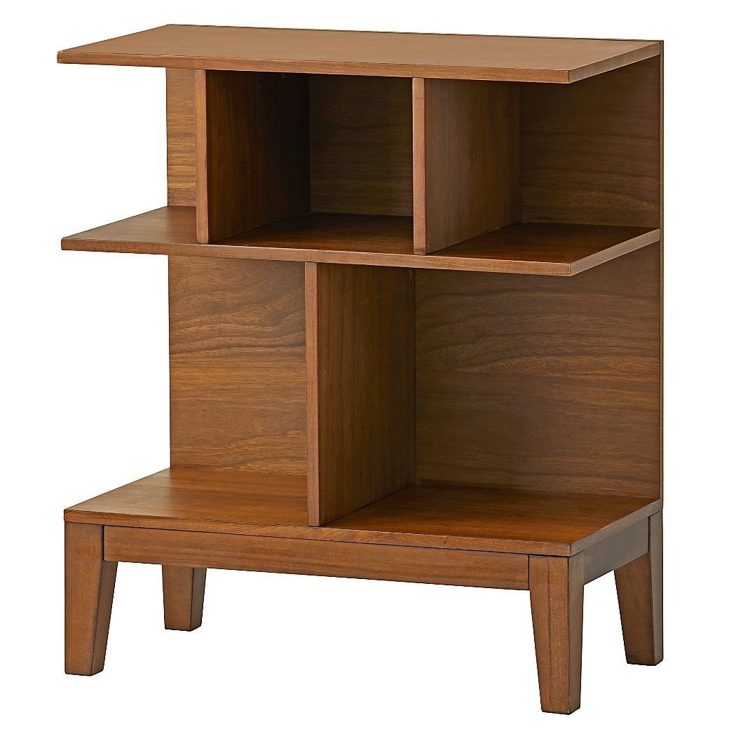 Sprout Small Walnut Bookcase Our Is Unique Modern And Sized Just Right For Compact Es It Has A Variety Of Shelves